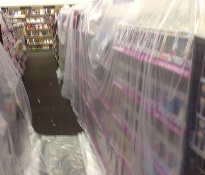 Containment In A Bookstore